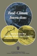 Food-Climate Interactions: Proceedings of an International Workshop held in Berlin (West), December 9–12, 1980