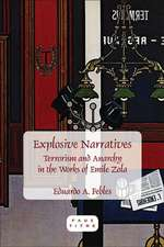 Explosive Narratives: Terrorism and Anarchy in the Works of Emile Zola