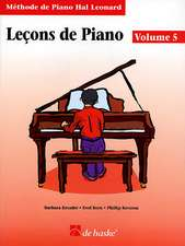 Lecons de Piano, Volume 5