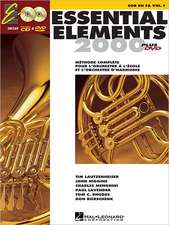 Essential Elements Ee2000 French Horn: French Edition
