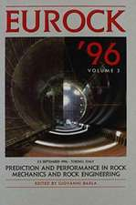 Prediction and Performance in Rock Mechanics and Rock Engineering