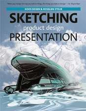 Sketching, Product Design Presentation:  Design Strategies and Methods