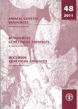 Animal Genetic Resources, Volume 48:  An International Journal