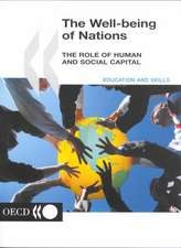 The Well-Being of Nations: The Role of Human and Social Capital