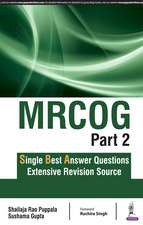 MRCOG Part 2: Single Best Answer Questions