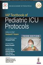 IAP Textbook of Pediatric ICU Protocols