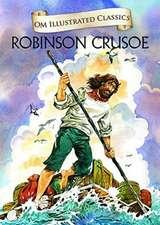 Om Illustrated Classics Robinson Crusoe