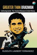Greater Than Bradman