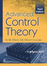 ADVANCED CONTROL THEORY FOR BE BTECH M
