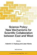 Science Policy: New Mechanisms for Scientific Collaboration between East and West