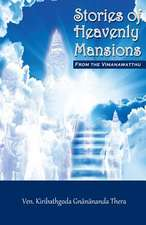 Stories of Heavenly Mansions from the Vimanavatthu