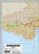 Saranda Stadtplan 1 : 8 000 GPS