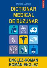 Dictionar medical de buzunar englez-roman/ roman-englez