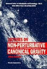 Lectures On Non-perturbative Canonical Gravity