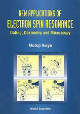 New Applications of Electron Spin Resonance:  Dating, Dosimetry and Microscopy