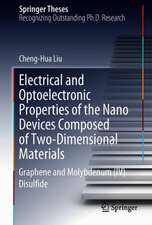 Electrical and Optoelectronic Properties of the Nanodevices Composed of Two-Dimensional Materials: Graphene and Molybdenum (IV) Disulfide