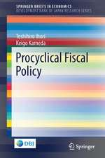 Procyclical Fiscal Policy