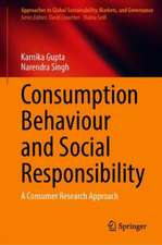 Consumption Behaviour and Social Responsibility