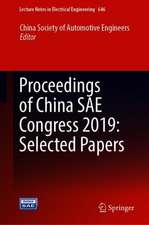Proceedings of China SAE Congress 2019: Selected Papers