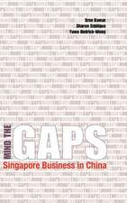 Mind the Gaps:  Singapore Business in China