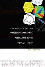 Introduction to Windows And Graphics Programming With Visual C++net
