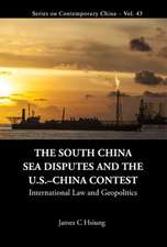 The South China Sea Disputes and the Uschina Contest