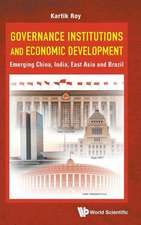 Governance Institutions and Economic Development