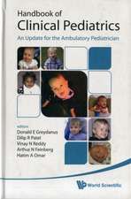 Handbook of Clinical Pediatrics