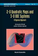 2-D Quadratic Maps and 3-D ODE Systems