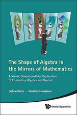 Shape of Algebra in the Mirrors of Mathematics, The:  A Visual, Computer-Aided Exploration of Elementary Algebra and Beyond [With CDROM]