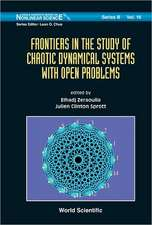 Frontiers in the Study of Chaotic Dynamical Systems with Open Problems
