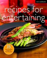 Receipes for Entertaining