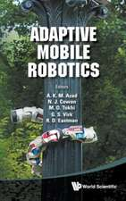 Adaptive Mobile Robotics - Proceedings of the 15th International Conference on Climbing and Walking Robots and the Support Technologies for Mobile Mac:  Theory and Empirical Evidence