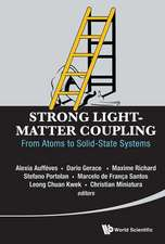 Strong Light-Matter Coupling