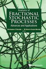 Analysis of Fractional Stochastic Processes:  Advances and Applications - Proceedings of the 7th Jagna International Workshop