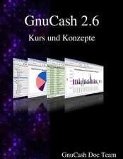 Gnucash 2.6 Kurs Und Konzepte