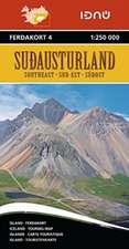 Iceland Southeast 4   1 : 250 000