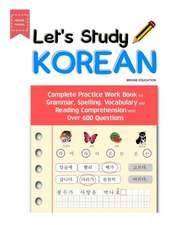 LET'S STUDY KOREAN